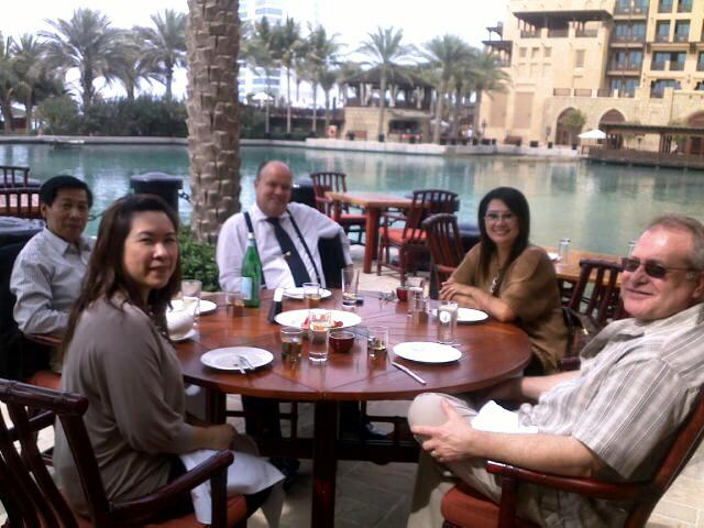 Lunch Dubai